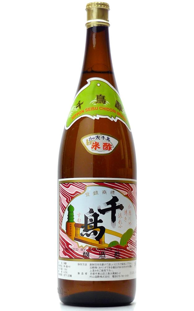 【お酢】 千鳥酢 村山本家吟醸 1.8L